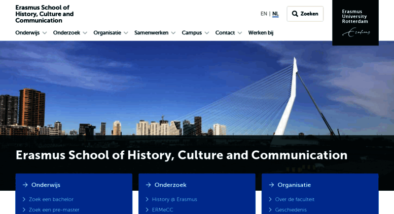 Access Eshcceurnl Erasmus School Of History Culture And