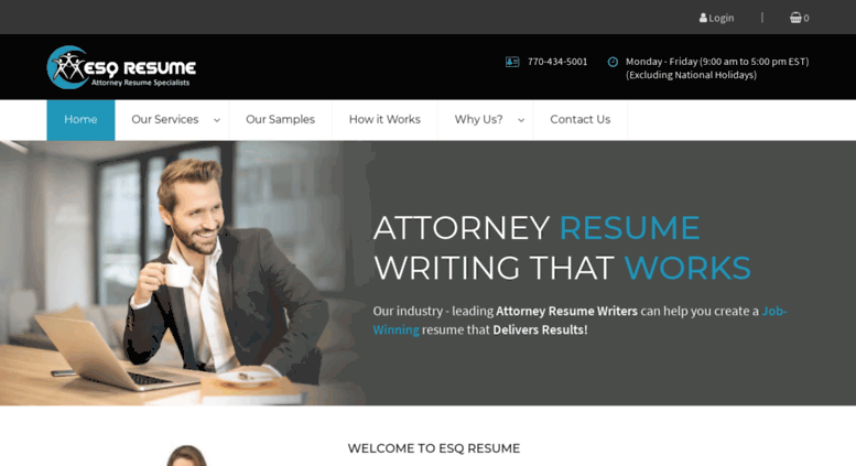 Access esqresume.com. Attorney resume, lawyer resume, legal ...