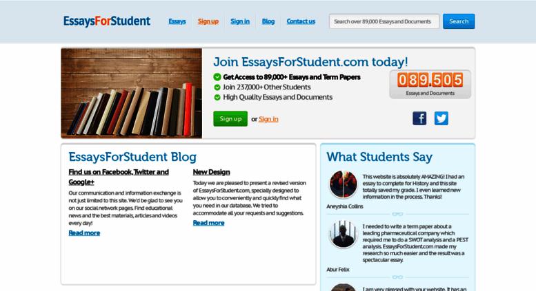 access essaysforstudentcom essaysforstudentcom    free  essaysforstudentcom screenshot