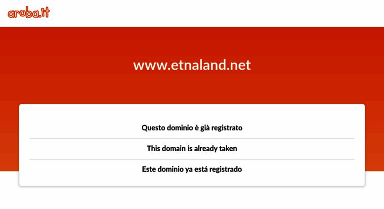 Calendario Etnaland.Access Etnaland Net