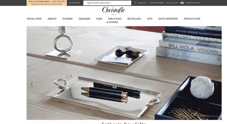 eu.christofle.com screenshot