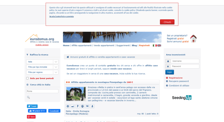 cfb876fdef37 Access eurodomus.org. Annunci gratuiti di affitto e vendita ...