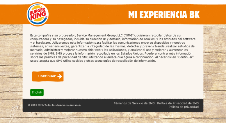 Access Evaluabkcom Mi Experiencia Bk Bienvenido