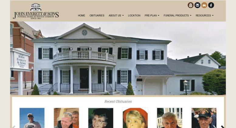 Access Everettfuneral Com John Everett Sons Funeral Home