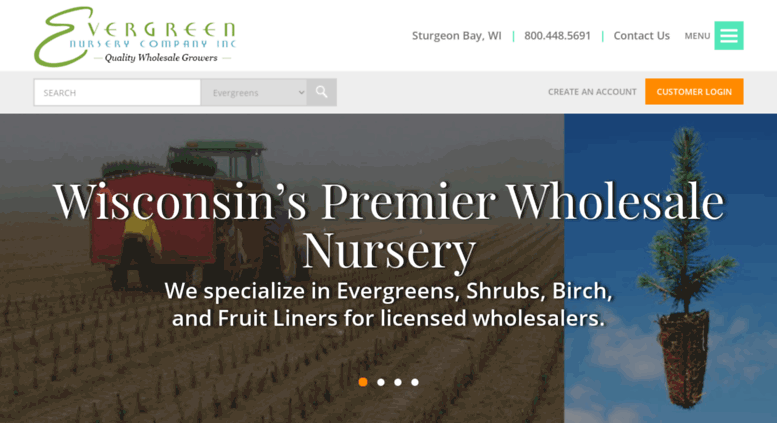 Access Evergreennurseryco Evergreen Nursery Company Inc