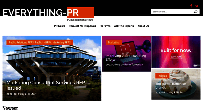 Access everything-pr com  Everything-PR: Public Relations