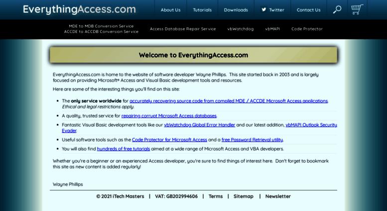 Access everythingaccess com  MDE to MDB Conversion Service