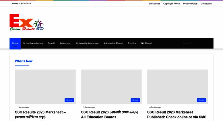 Access examresultbd com  Exam Result BD - SSC Result 2019