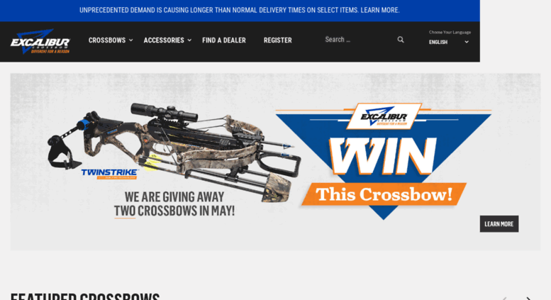 Access excaliburcrossbow org  Excalibur Crossbow: The Most