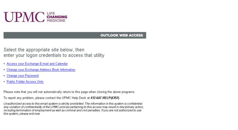 Upmc Address