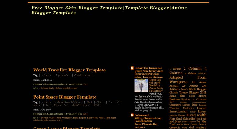 New premade blogger templates   blogaholic designs.
