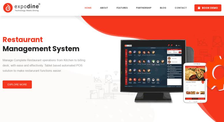 Access expodine com  Restaurant Management System/software