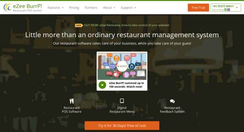 Access ezeeburrp com  Restaurant POS Software | Restaurant
