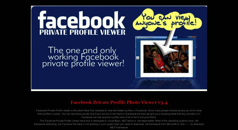 Access facebook-private-profile-viewer blogspot com