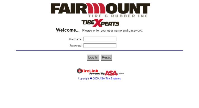 Access Fairmount Etirelink Com Etirelink Login