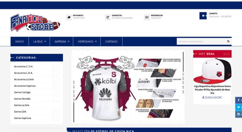 3a1402a8d1ec5 Access fanaticos.cr. Fanaticos.cr - Tienda Oficial de los equipos de ...
