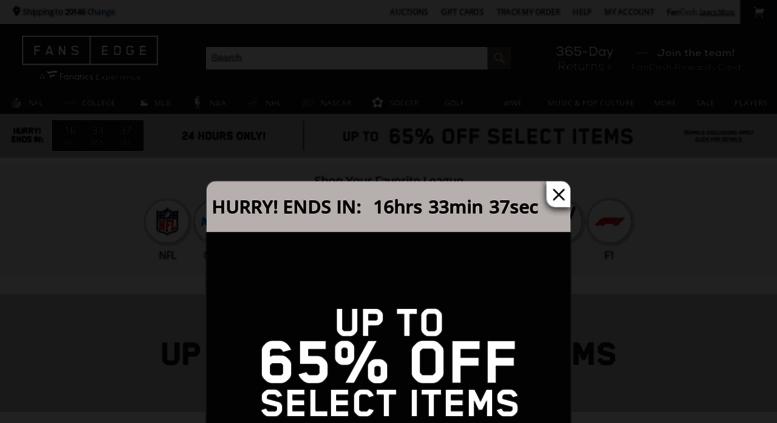 Access fansedge.com. Sports Apparel 6015c9054