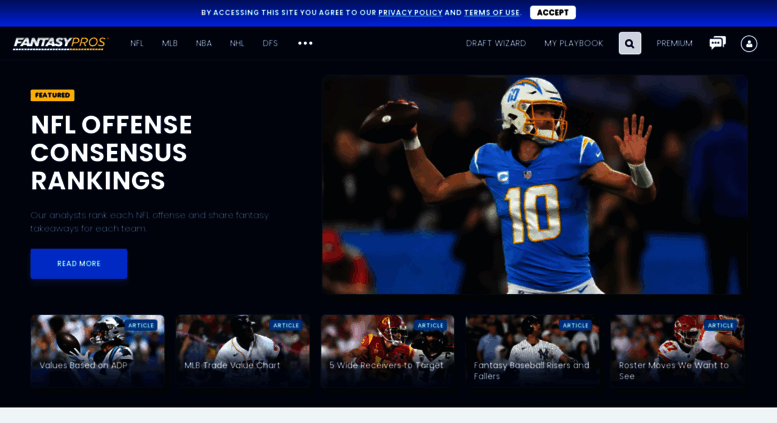 Access fantasypros com  Fantasy Football Rankings, 2019