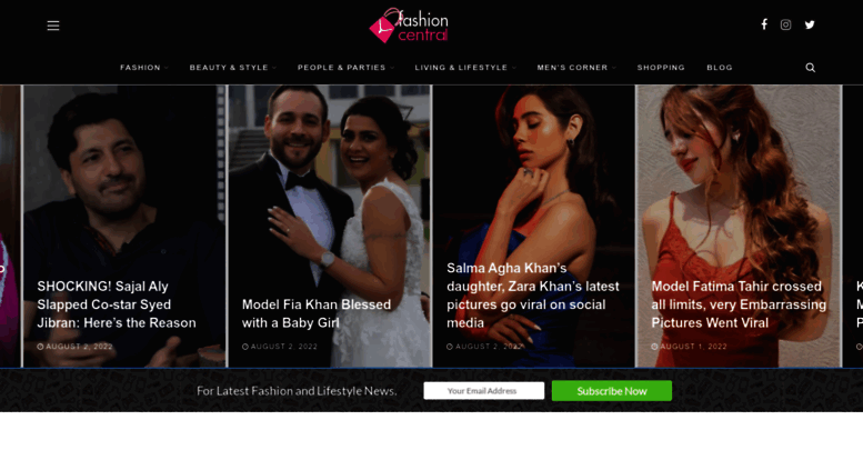 Access Fashioncentral Pk Pakistan Fashion Shows Fashion Designers Beauty Tips And Models