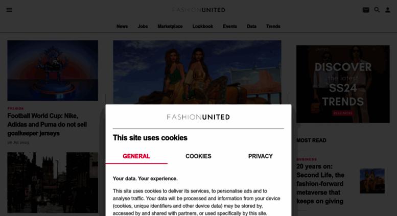 Access Fashionunited Uk Fashion News Fashion Jobs Network Career Job Board Designer Jobs Fashionjobs London Uk