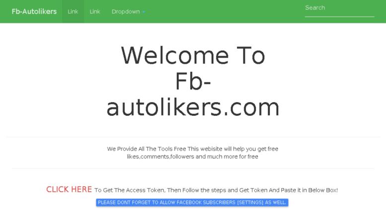 Access fb-autolikers me  Fb-Autolikers com   Best Auto Liker