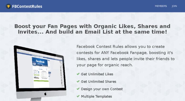 Access fbcontestrules com  FB Contest Rules | Create