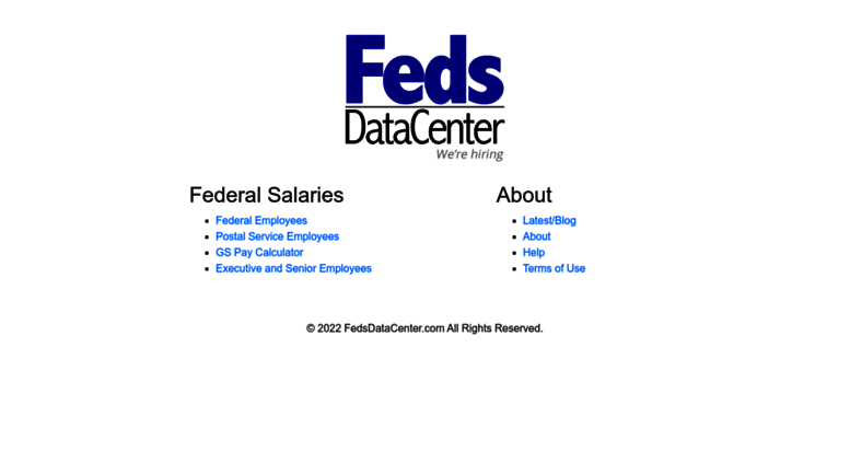 Feds Data Center >> Access Fedsdatacenter Com Fedsdatacenter Com Data From Uncle Sam