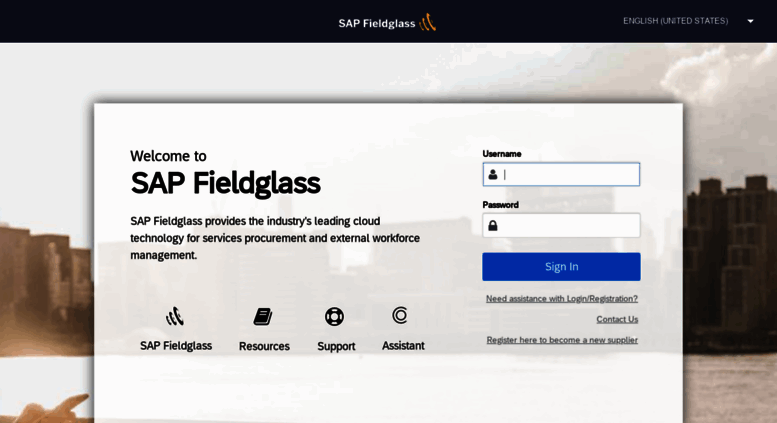 Access fieldglass.net. SAP Fieldglass Login