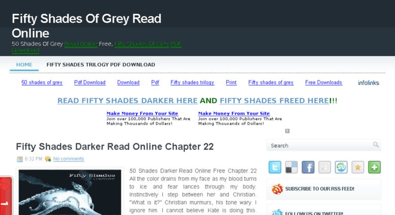 Read Fifty Shades Darker Free Pdf