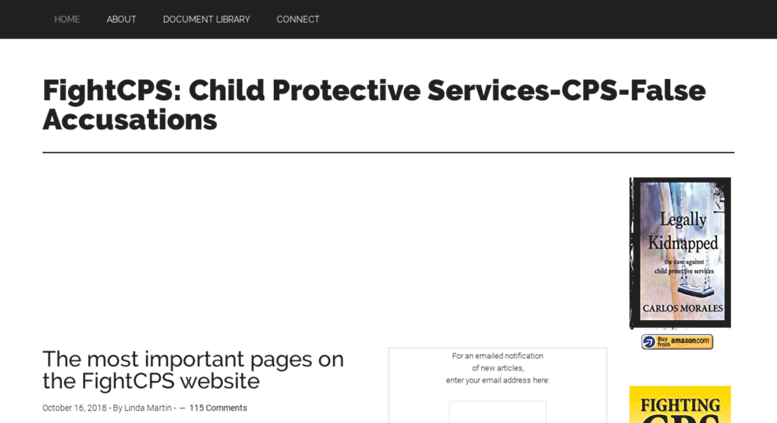 Access fightcps com  FightCPS: Child Protective Services-CPS