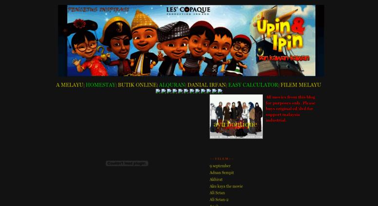 Access filemtempatan blogspot com  :: MALAY MOVIE :: FILEM