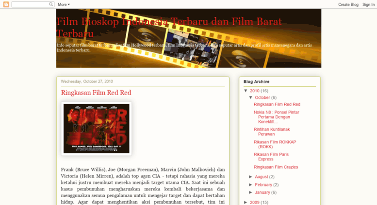 Access Filmindonesia Terbarublogspotcom Film Bioskop Indonesia