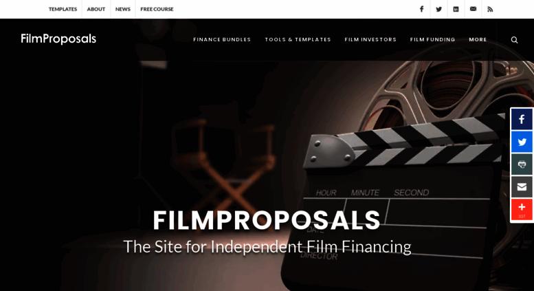 Access filmproposals com  Film Proposals | Movie Business