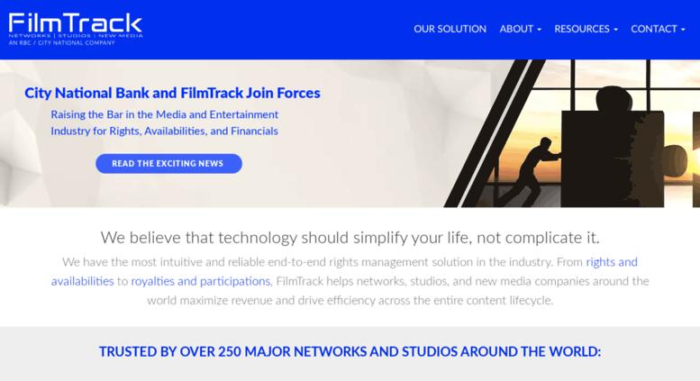 Access filmtrack net  FilmTrack: Enterprise Rights Management Software