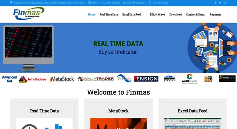 Access finmas in  nse realtime data provider | Amibroker