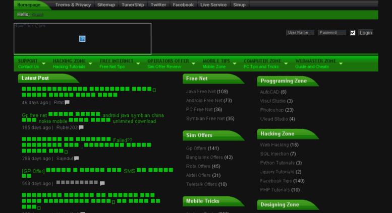Access firstweb1 wapka mobi  RockBD Ga - Free Internet Trick