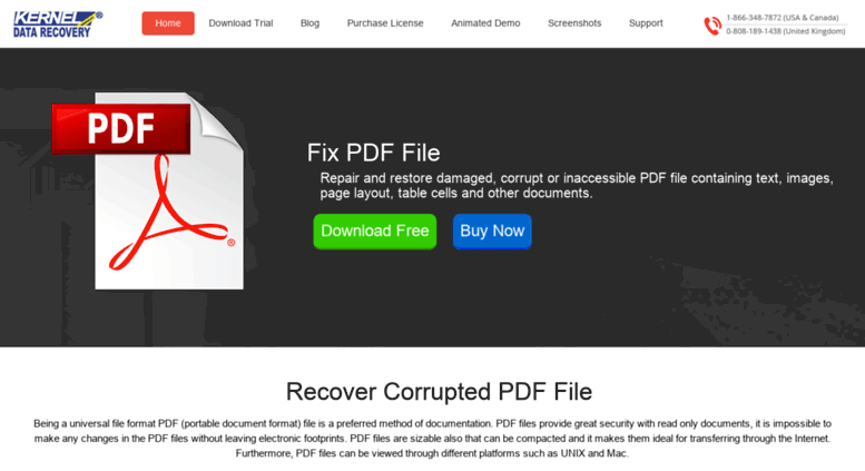 Repair Damaged Pdf
