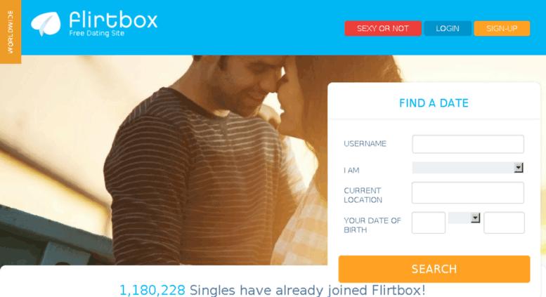 Flirtbox free online dating