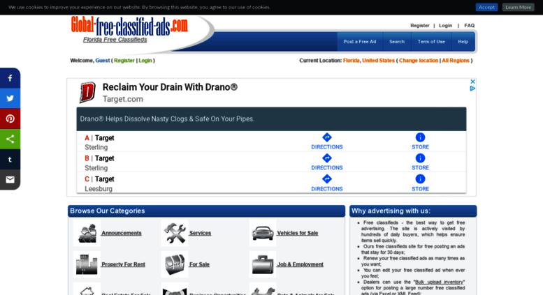 Access florida global-free-classified-ads com  Free