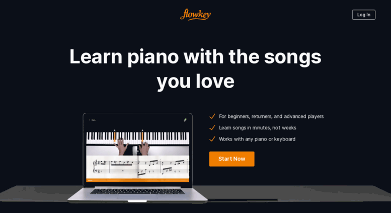 Access flowkey com  How to play piano - Learn to play piano online