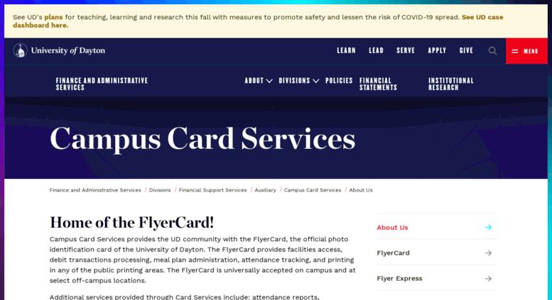 Access Flyerexpressudaytonedu Flyer Express University Of
