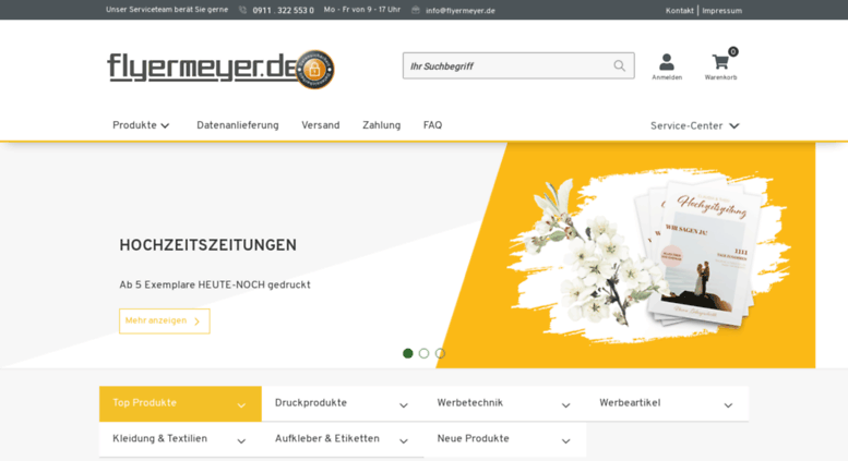 Access Flyermeyer Com Flyermeyer De Die Onlinedruckerei