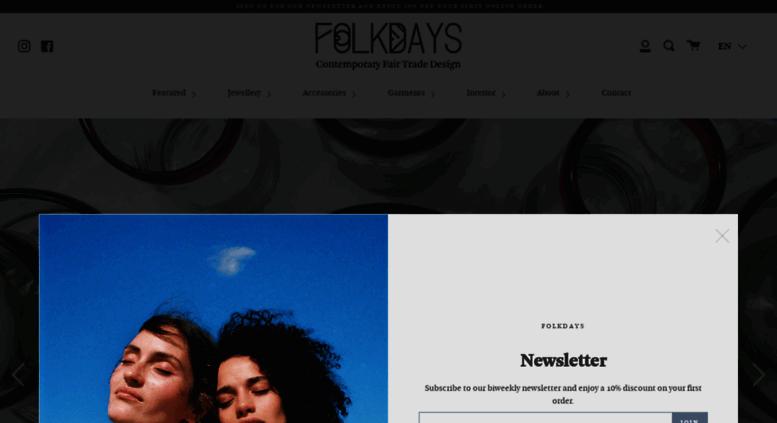 93b56de25e423c Access folkdays.com. FOLKDAYS - Online-Shop for Fair Trade Fashion ...