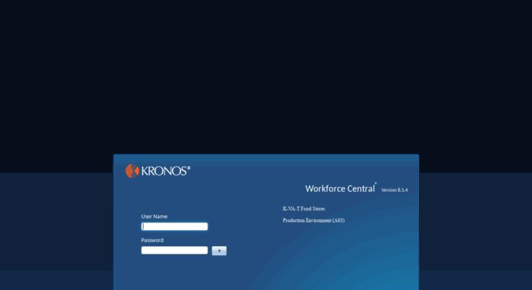 Access foodcity kronos net  Kronos Workforce Central(R)
