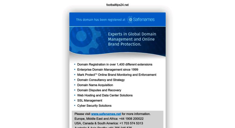 Access footballtips24 net  Football Betting Tips - Free