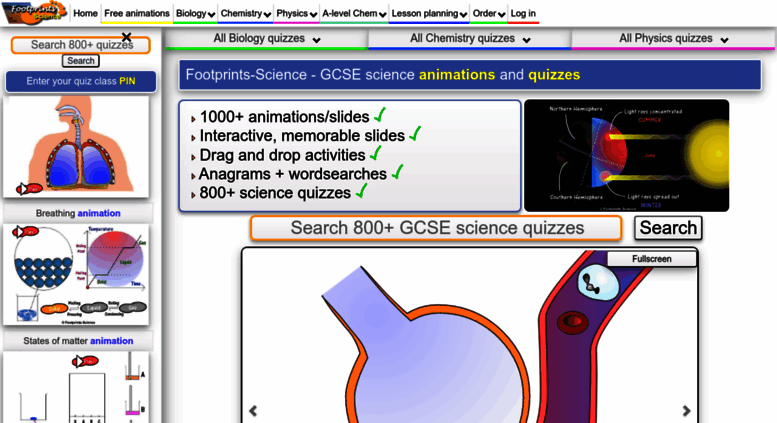 Access footprints-science co uk  Footprints-Science - GCSE Science
