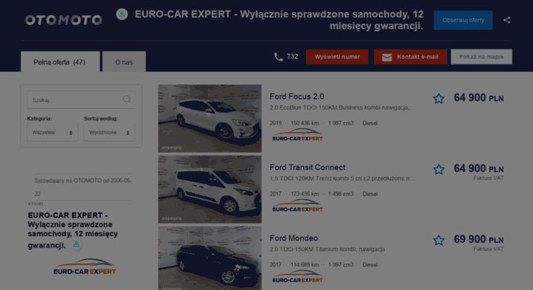 Access Fordeurocar Otomoto Pl Euro Car Expert Roznorodna Oferta