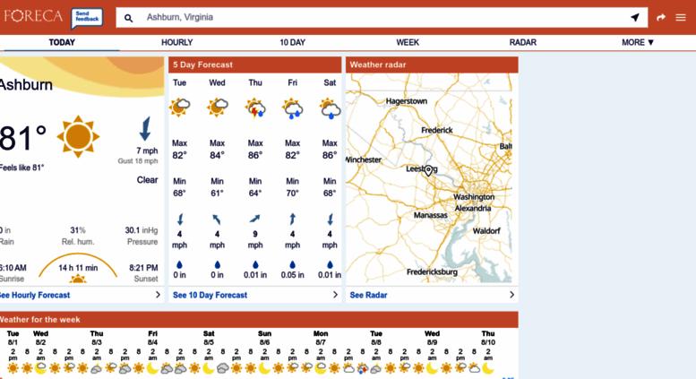 Access foreca com  Weather Forecast New York City - Foreca com
