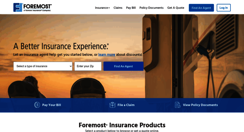 Access Foremostcom Insurance Quotes Home Auto Insurance