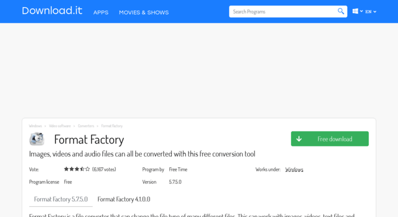 Access format-factory jaleco com  Format Factory - Free Download